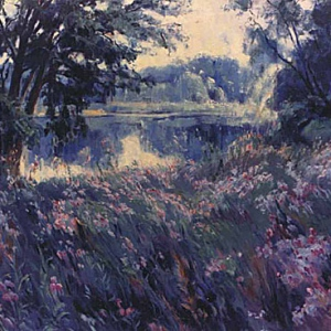 MEDOW FLOWERS. KENT LAKE 36″x 40″