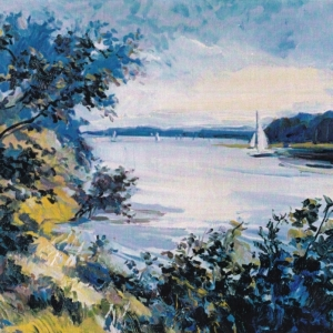KENT LAKE. 24″x28″ Oil on canvas