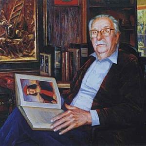 PORTRAIT OF MR.FONTANA. 40″x46″