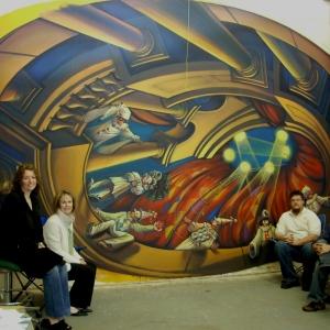 Ceiling mural May 16 001
