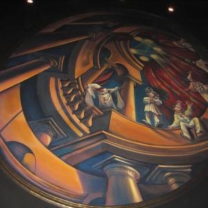 Restaurant Illusion. Ceiling